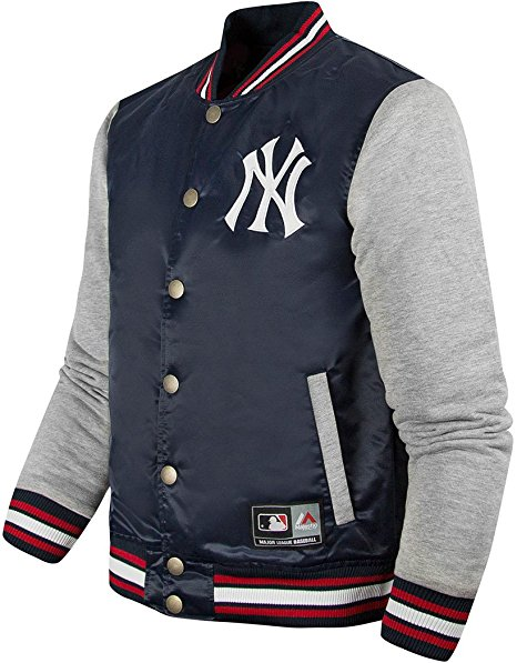 e68b20e6b Official Majestic Athletics New York Yankees Creech Varsity Jacket ...