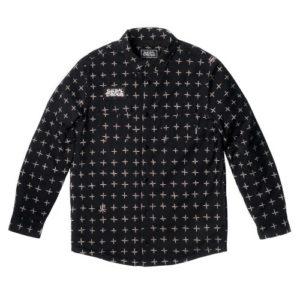 Bastard ST Flannel heavy shirt/jacket flannel x Suicidal Tendencies M -L