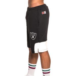 Majestic Athletic – Short Jogging Otabe Fleece Oakland Raiders Noir