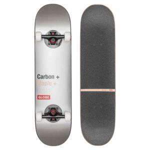 Globe G3 Bar Skateboard, Unisex adulto, Unisex adulto, 10525310, multicolore (impatto/argento), 8.125″