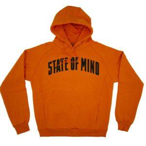 """CAMPUS"""" Orange hoodie"""