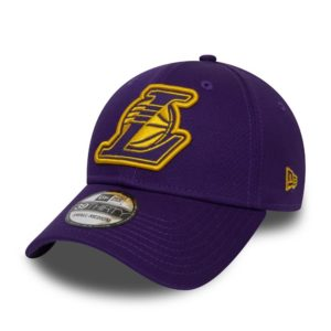 Cappellino New Era – 39thirty Nba Los Angeles Lakers viola/giallo