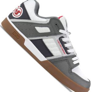 DVS Comanche 2.0 Mens White Nubuck & Mesh Athletic Lace Up Skate Shoes