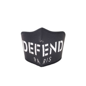 Defend Paris Face Mask Black