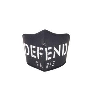 Defend Paris Face Mask Black