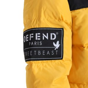 Defend Paris Kalsoy Jacket Yellow