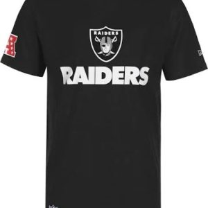 New Era NFL Raiders Fan tee 2 blk