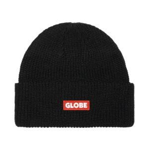 Globe Bar Beanie – Black