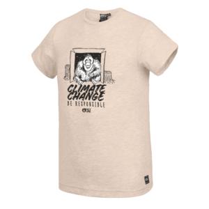 Picture t-shirt Illukoq tee beige melange