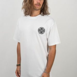 INDEPENDENT TC EMB T-SHIRT (WHITE)