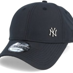 New Era 940 Flawless NY Black Baseball Cap IMPERMEABILE colore navy