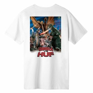 T-SHIRT HUF / DESTROY ALL MONSTERS S/S TEE WHITE