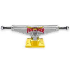 Venture x Thrasher Truck Polished/Mustard (Red Bushings) Lo 5.2