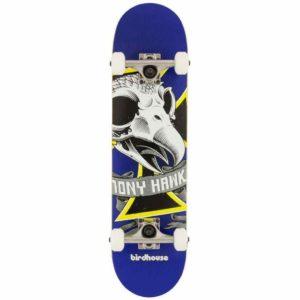 Birdhouse Stage 1 Oversized Skull Mini Complete Skateboard – 7.25″
