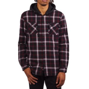 Globe Alford III Long Sleeve Shirt – Berry