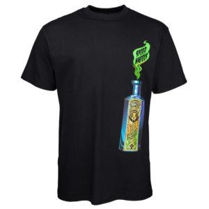 SANTA CRUZ – T-shirt Uomo Speed Wheels Snake Oil – Nero