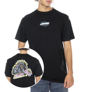 Santa Cruz Cosmic Cat T-Shirt – Black