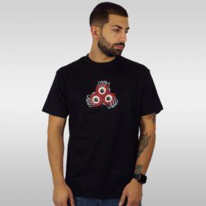 T-Shirt Santa Cruz Vein Eyes – Nero