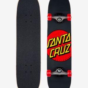 SANTA CRUZ CLASSIC DOT 8″ TAVOLA COMPLETA (BLACK RED)