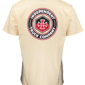 Independent Blockade T-Shirt Uomo Cream